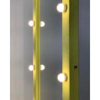 Напольное зеркало с лампочками в комнату 170*70